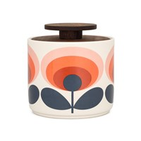 Orla Kiely '70S Flower Storage Jar Red