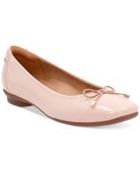 Clarks Artisan Women's Candra Light Flats Women's Shoes Dusty Pink