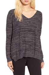 Women's Bp. Marl V Neck Pullover