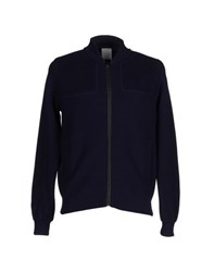 Bark Knitwear Cardigans Men Dark Blue