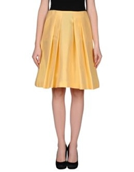 Emilio Pucci Knee Length Skirts Apricot