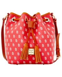 Dooney And Bourke St. Louis Cardinals Kendall Crossbody Red