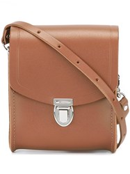 The Cambridge Satchel Company 'The Push Lock' Mini Bag Brown