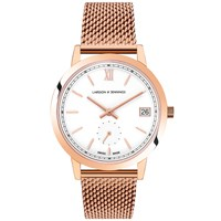 Larsson And Jennings Saxon 33Mm Watch White