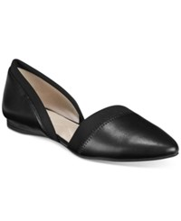 Alfani Women's Perrlla D'orsay Pointed Toe Flats Only At Macy's Women's Shoes Black
