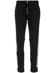 Andrea Bogosian Panelled Track Trousers Black
