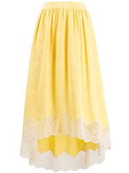 Zadig And Voltaire Joslin Jacquard Skirt Yellow