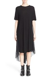 Women's Superfine 'Day' High Low Cape Back Dress