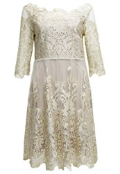 Cream Anja Cocktail Dress Party Dress Golden Sand