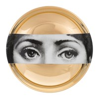 Fornasetti Tema E Variazioni Ashtray Gold No. 32