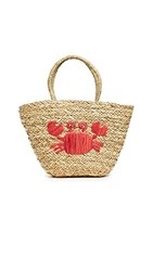 Hat Attack Whimsical Tote Crab