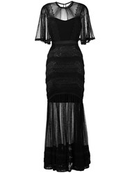 Three Floor Villainess Dress Black