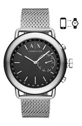 Armani Exchange Ax Connected Hybrid Mesh Strap Smart Watch 47Mm