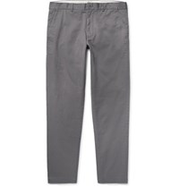 Club Monaco Connor Slim Fit Stretch Cotton Twill Chinos Anthracite