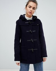 Gloverall Mid Length Duffle Coat Navy