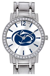 Women's Game Time Watches 'College All Star Penn State University' Crystal Bezel Bracelet Watch 32Mm