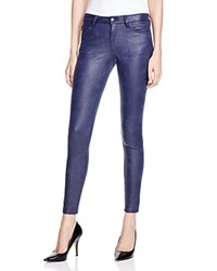 Joe's Jeans Icon Skinny Faux Leather Jeans In Eclipse