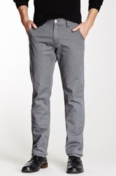 Micros Hoopti Straight Leg Pant Gray