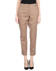 Maliparmi Trousers Casual Trousers Women Brown