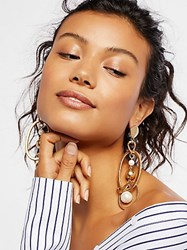 Free People 'Round The Town Hoops By