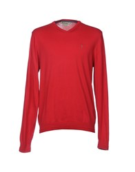 Refrigue Knitwear Jumpers Red