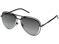 Marc Jacobs Marc 7 S Shiny Black Gray Gradient