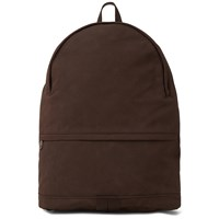A.P.C. Stefan Suede Backpack Brown