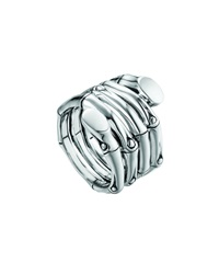 John Hardy Bamboo Sterling Silver Wrap Ring