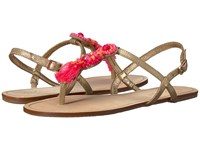 Lilly Pulitzer Interchangeable Island Sandal Gold Metallic Sandals