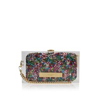 Kurt Geiger Perspex Sequins Clutch Multi Other