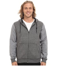 Hurley Getaway Fleece Zip Black Men's Clothing