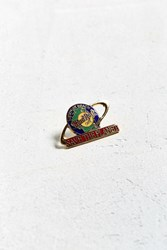Urban Outfitters Vintage Hard Rock Cafe Save The Planet Pin Multi