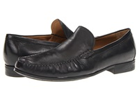 Johnston And Murphy Cresswell Venetian Black Sheepskin Men's Slip On Shoes