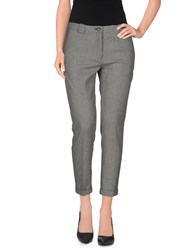 Mauro Grifoni Trousers 3 4 Length Trousers Women Grey