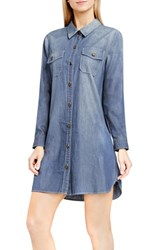Vince Camuto Women's Two By Denim Shirtdress Authentic
