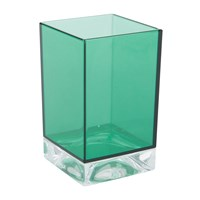 Kartell Square Toothbrush Holder Aquamarine Green