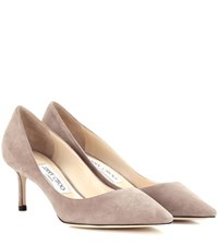Jimmy Choo Suede Pumps Grey