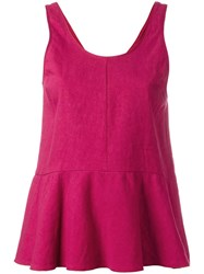 Forte Forte Sleeveless Top Red