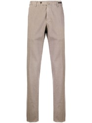 Belstaff Straight Leg Trousers Nude And Neutrals