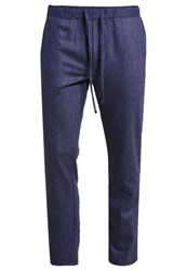 Native Youth Meteor Trousers Navy Dark Blue