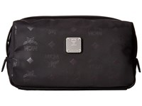 Mcm Dieter Monogrammed Nylon Small Cosmetic Pouch Black Cosmetic Case