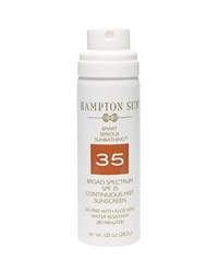 Continuous Mist Broad Spectrum Spf 35 Sunscreen 1.0Oz Hampton Sun