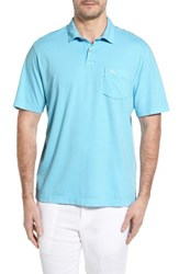 Tommy Bahama Men's Reef Jersey Polo Graceful Sea