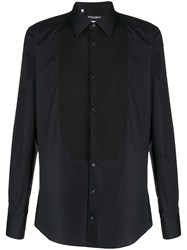 Dolce And Gabbana Slim Fit Shirt Black