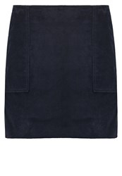 Gap Mini Skirt True Indigo Blue