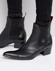 Jeffery West Sylvian Leather Chelsea Boots Black