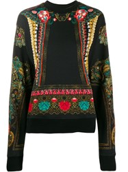 Etro Ornate Print Sweatshirt Black