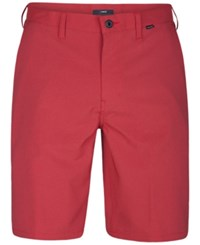 Hurley Men's Dri Fit Chino Shorts University Red