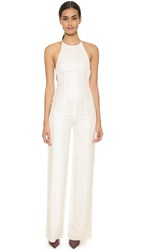 Narciso Rodriguez Harness Back Jumpsuit White