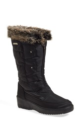 Pajar 'Louise' Weatherproof Boot Women Black Fabric